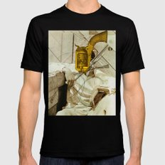Gary Cooper SMALL Mens Fitted Tee Black