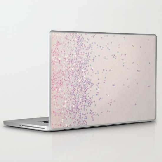 My Favorite Color (NOT REAL GLITTER - photo) Laptop & iPad Skin