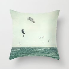 Tarifa beach Throw Pillow
