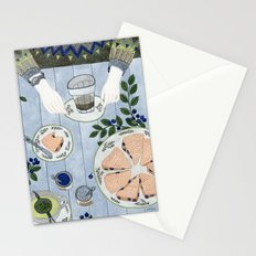 Blueberry Scones Stationery Cards