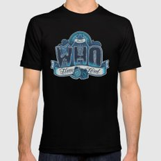 Infinite Who Mens Fitted Tee Black SMALL