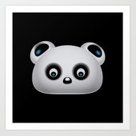 Art Print featuring Panda Bear by VanessaGF