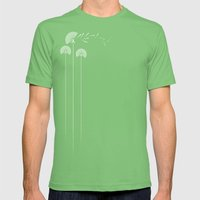 in un soffio Mens Fitted Tee Grass SMALL