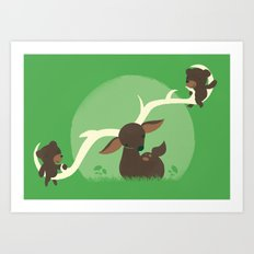 Teeter Totter Art Print