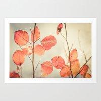 Simply Leaves Art Print