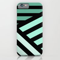 STRIPED {MINT} iPhone 6 Slim Case