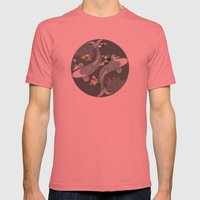 Koi Mens Fitted Tee Pomegranate SMALL