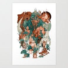 Dark Souls Gang Art Print
