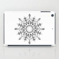 Dotwork mandala iPad Case