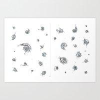 Motes Art Print