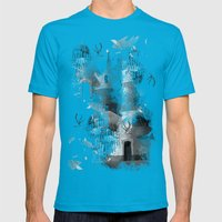 Gateway Mens Fitted Tee Teal SMALL