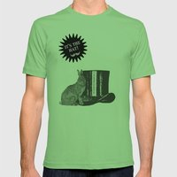 Magic Rabbit Mens Fitted Tee Grass SMALL