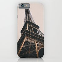 iPhone & iPod Case featuring Eiffel Tower by Christine Workman