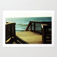 Seaside Dreaming Art Print