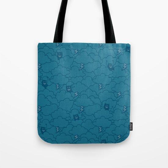 Sky Storm Tote Bag