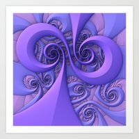 I Saw The Wind Today Art Print