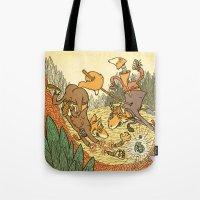 Brain Fox Tote Bag