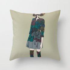 Kinabalu Throw Pillow