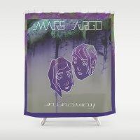 MARS ARGO _runaway_ Shower Curtain