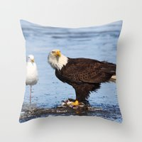 Please Share Throw Pillow