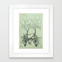 Into the Spring Framed Art Print