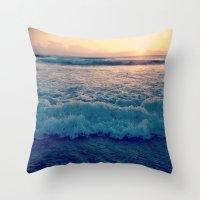 Favorite Sunrise  Throw Pillow
