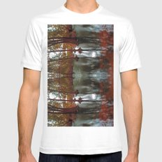 still  Mens Fitted Tee SMALL White