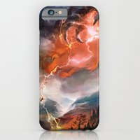 iPhone & iPod Case featuring Lightning Bolt by Veronique Meignaud MTG