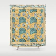 Goethite Geometry Shower Curtain