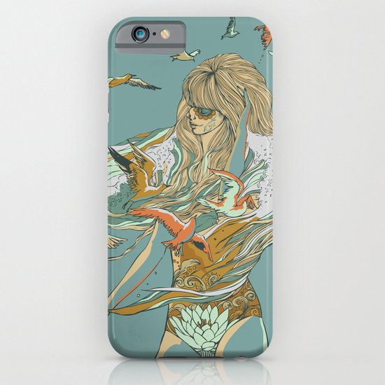 MELT INTO THE OCEAN iPhone & iPod Case
