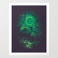 The Ring Art Print
