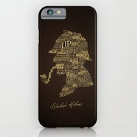 iPhone & iPod Case featuring Sherlock Holmes The Canon by renduh