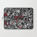 Doodled To Death Laptop Sleeve