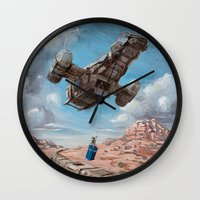 The Time Job - Firefly + Doctor Who  Wall Clock