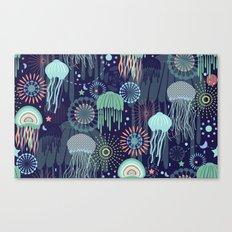 Sparkling Jellies Canvas Print