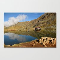 Corner of heaven Canvas Print