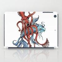 Squid and Fish iPad Case