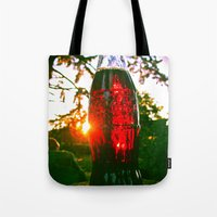Cola sunset Tote Bag