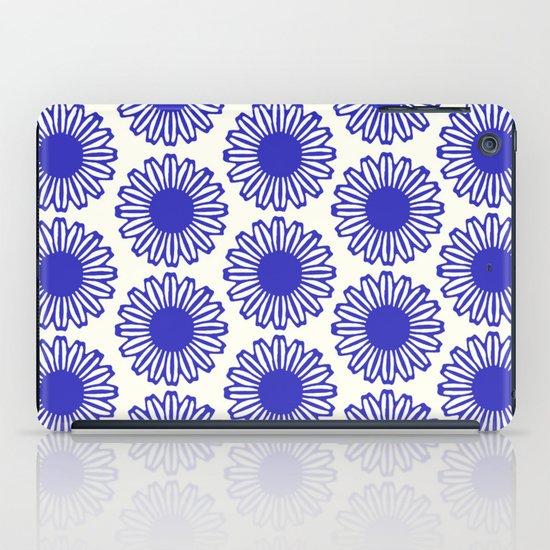 Vintage Flower Blue iPad Case