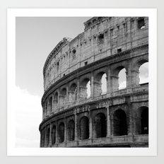 Colosseum Rome Art Print