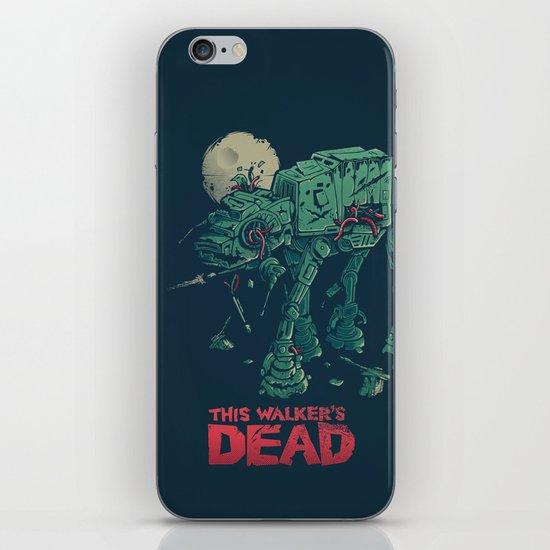 Walker's Dead iPhone & iPod Skin