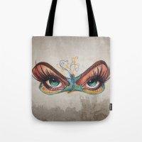 Butterflies eyes Tote Bag