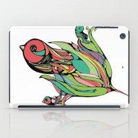 Rising Of The Birdy Gods iPad Case