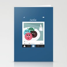 Funny Ice Cream 3 Stationery Cards