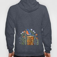 Eastern Bluebird Hoody