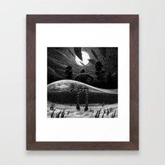 Drawlloween 2014: Creature from the Black Lagoon Framed Art Print