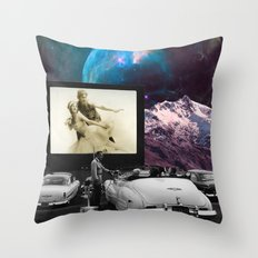 Drive-in me crazy Throw Pillow