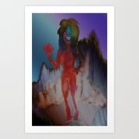can't fight the seether Art Print
