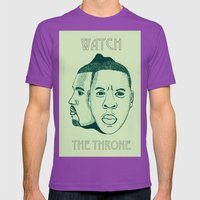 Watch The Throne II Mens Fitted Tee Ultraviolet SMALL