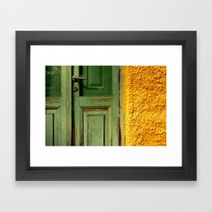 Colorful detail Framed Art Print